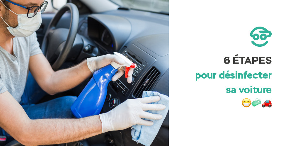comment desinfecter sa voiture