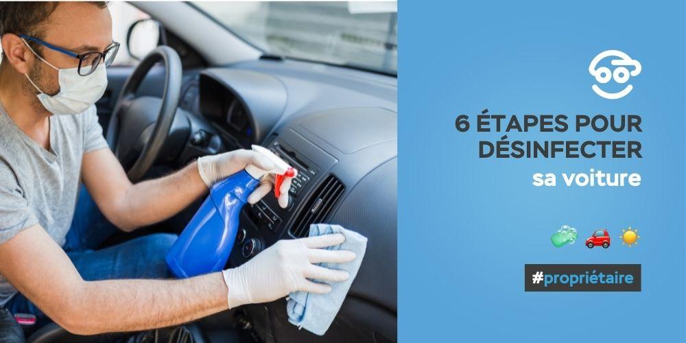 zotcar - comment desinfecter sa voiture